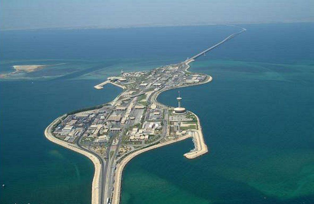 بناء جزيرة جديدة بين السعودية والبحرين بجسر الملك فهد البحرين صحيفة الوسط البحرينية مملكة البحرين