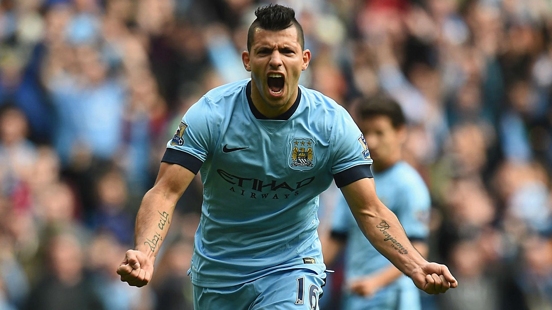 المركز الثالث فحصل عليه سيرخيو اجويرو برصيد 21 هدفا.