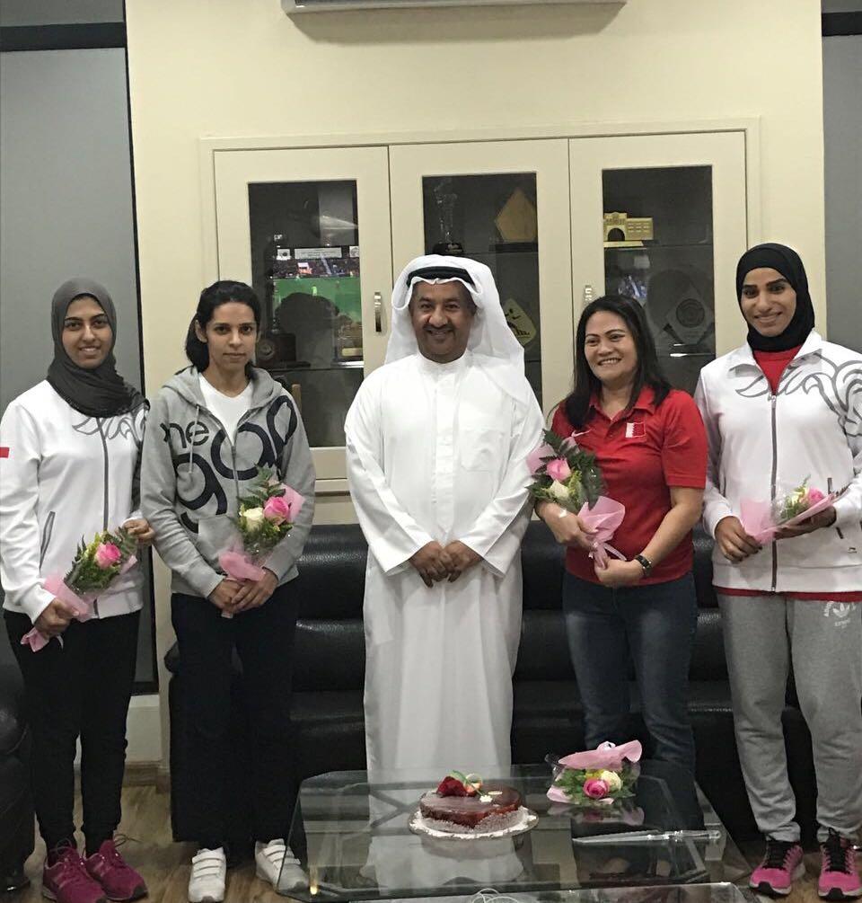 اتحاد ألعاب القوى يحتفي بيوم المرأة البحرينية   رياضة - صحيفة الوسط البحرينية - مملكة البحرين