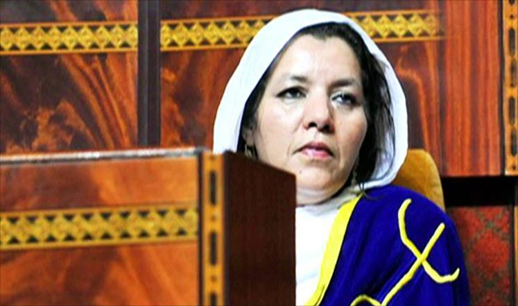 تبعمرانت أثارت جدلا داخل البرلمان بعدما طرحت سؤالا باللغة الأمازيغية