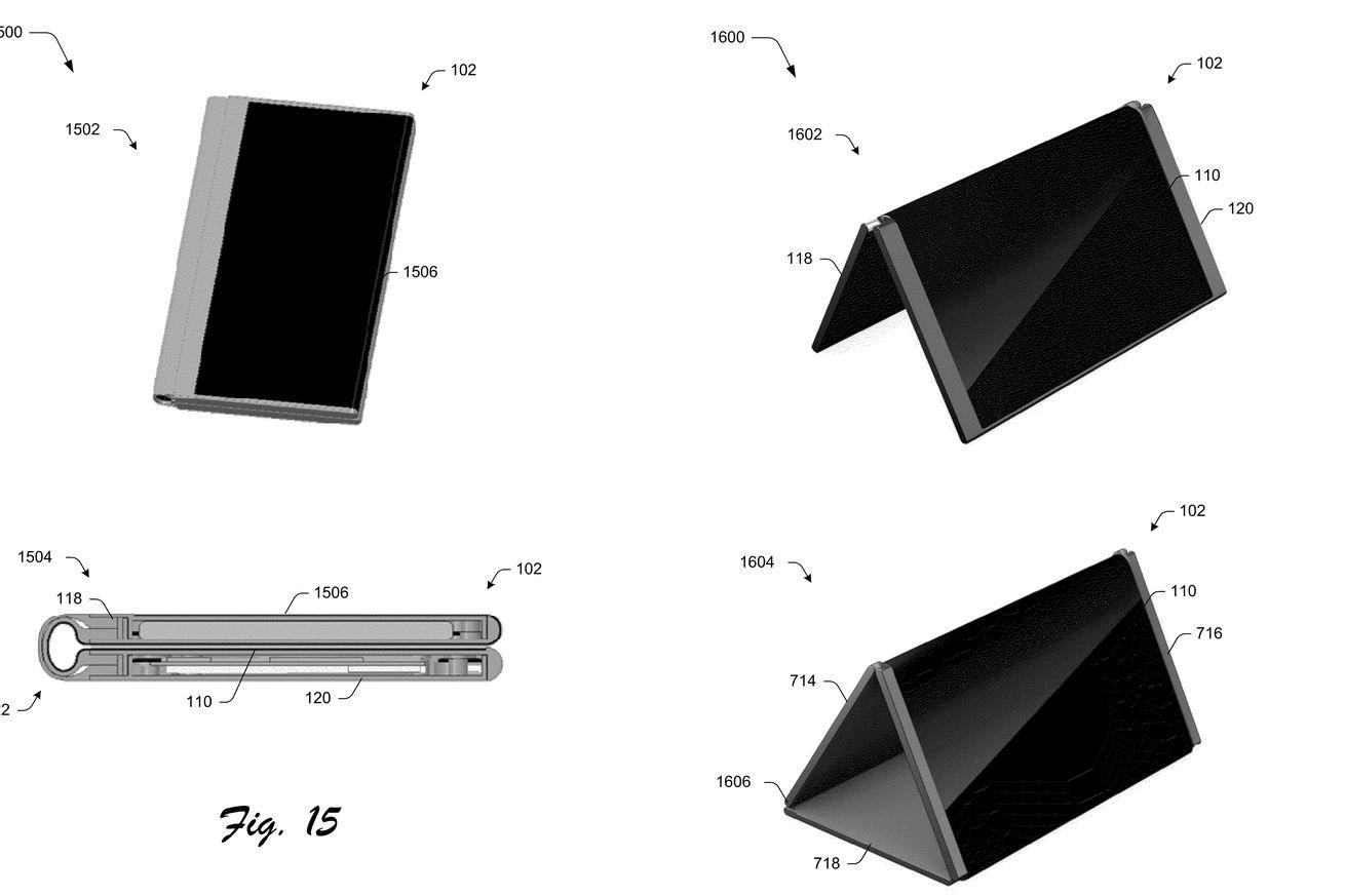 مايكروسوفت  تسجل براءة اختراع لهاتف قابل للطي يتحول إلى حاسب لوحي   تكنو - صحيفة الوسط البحرينية - مملكة البحرين