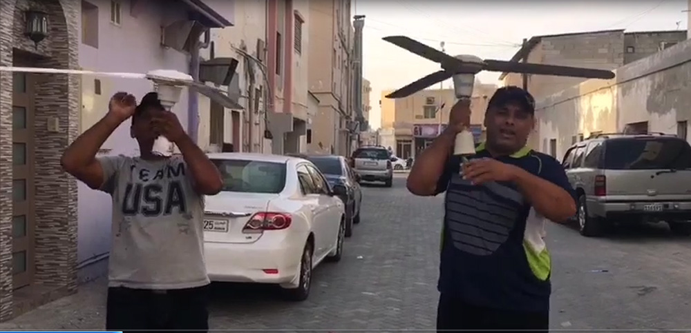 البحرين : بالفيديو.. مواطنون يتطرقون لظاهرة انتشار لعبة التوتر بالافلام الكوميدية والطرائف   البحرين - صحيفة الوسط البحرينية - مملكة البحرين
